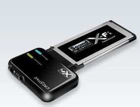 כרטיס קול קריאיטיב למחשב נייד Creative X-Fi Notebook Express-Card