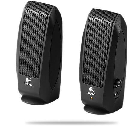 רמקולים לוג'יטק למחשב Logitech S120 2.0 2.3Watt Black Retail