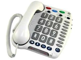 טלפון מוגבר לכבדי שמיעה – Geemarc CL200