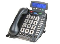 טלפון מוגבר לכבדי שמיעה בעל צג Geemarc CL400