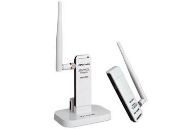 כרטיס רשת אלחוטי ואנטנה TP-Link TL-WN722N N-Draft 150Mbps Wireless USB