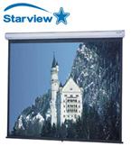 מסך הקרנה לתליה נגלל קיר 160x160 ס''מ StarView M160160