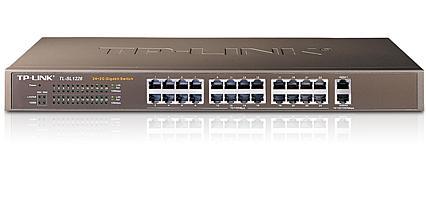 מתג 24 ערוצים TP-Link TL-SL1226 10/100Mbps+2 Gigabit Switch