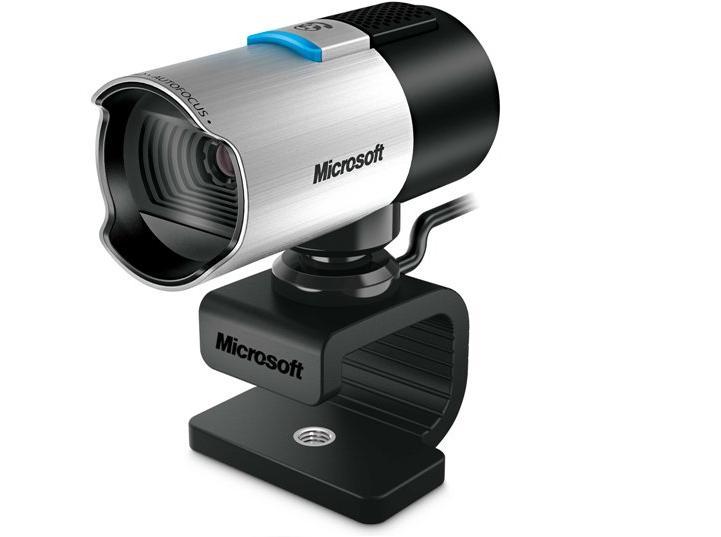 מצלמת רשת אינטרנט ומיקרופון מובנה לשיחות ועידה מיקרוספוט Microsoft LifeCam Studio Q2F-00018 Full HD HD1080p USB