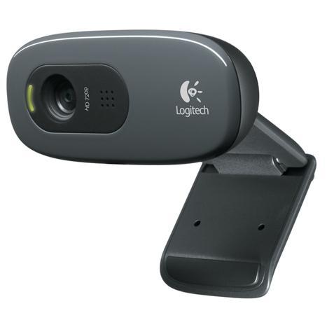 מצלמת רשת ומיקרופון מובנה לשיחות ועידה באינטרנט לוג'יטק Logitech Webcam C270 HD Video 720p