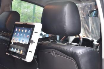 זרוע משענת ראש לרכב iPad אייפד/גלקסי JB Tech TABLET - מתאימה גם לרכב שטח