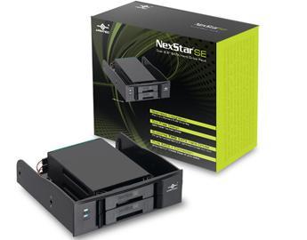 מגירה שליפה ל-2 דיסקים קשיחים וונטק Vantec MRK-525ST NexStar SE 2.5'' SATA I/II/III  For Hard Drives or SSD To 5.25