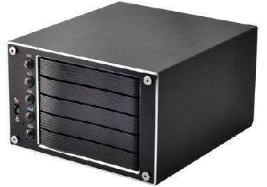 מארז דיסקים חיצוני SNT ST-2250RES 5 x2.5'' SATA HDD RAID 0, 1, 10, 3, 5,JBOD SATA to ESATA