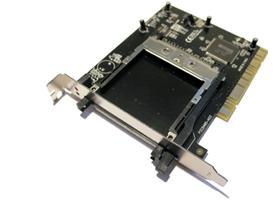 בקר הרחבה Dynamode PCI-PCMCIA-475 PCI Card Adapter