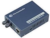 ממיר אופטי Dynamode TT100-TF100ST 10/100TX -100Base (ST) MM Duplex Converter