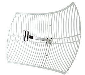 אנטנה כיוונית חוץ מבנה TP-Link TL-ANT2424B 24dBi Directional Grid Parabolic Antenna