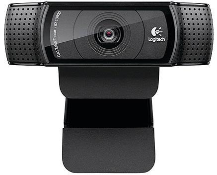 מצלמת אינטרנט ומיקרופון מובנה לשיחות ועידה לוג'יטק Logitech HD Pro Webcam C920E Full HD1080p USB