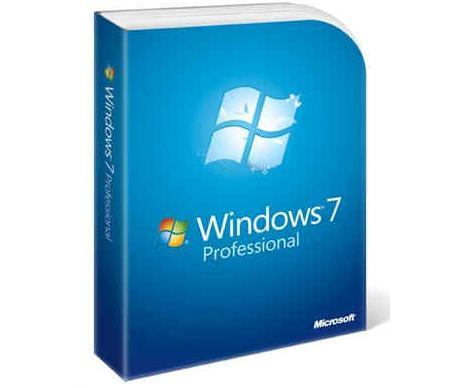 מערכת הפעלה ווינדוס חלונות 7 פרופשנל  עברית Microsoft Windows7 Pro Business 64Bit Hebrew OEM