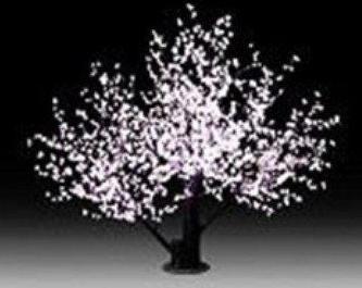 תאורת לד דמוי עץ דובדבנים DivoLight LED cherry blossom tree white