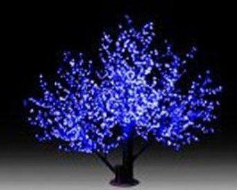 תאורת לד דמוי עץ דובדבנים DivoLight LED cherry blossom tree violet