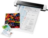 סורק נייד צבעוני זעיר Plustek MobileOffice S410
