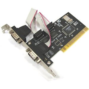 כרטיס הרחבה סיריאלי Dynamode PCI-RS232-2 PCI 2Port RS232 Serial Port Adapter