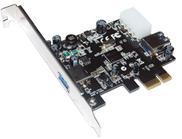 כרטיס הרחבה בקר ST-Lab U-550 USB3.0 2Port (1x Ext. + 1x Int.)Nec chipset PCI-e