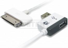 כבל טעינה לאייפד ipad Charger Cable + USB Hub