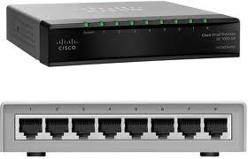 מתג 8 ערוצים לא מנוהל סיסקו Cisco SF100D-08 10/100 Desktop Switch