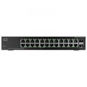 מתג סיסקו 24 ערוצים גיגה לא מנוהל Cisco SG110-24 24-Port Gigabit Switch