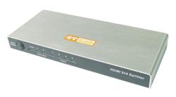 מפצל מסך רכזת STLAB M-400 2x4 HDMI Splitter