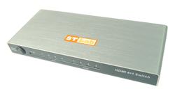 בורר מסכים מקור אחד ארבע יציאות STLAB M-410 4x1 HDMI Switch