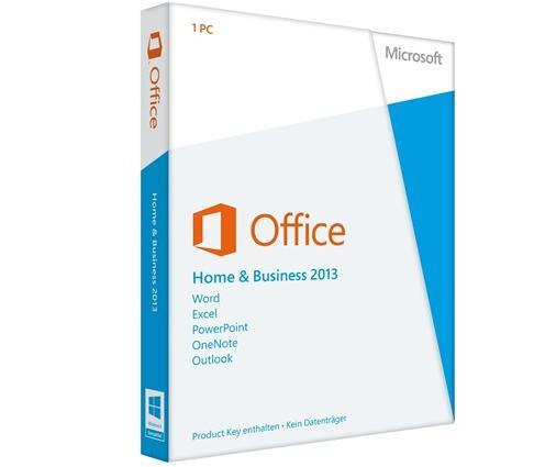 תוכנת מיקרוסופט אופיס אנגלית Microsoft Office Home & Business 2013 OEM