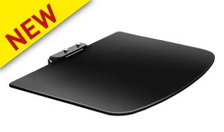 מדף לממיר זכוכית למכשירי אודיו וידיאו תומך במשקל עד 10 ק''ג BARKAN E85G