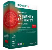 תוכנת אבטחה קספרסקי הגנת פרימיום 3 מכשירים רישיון לשנה Kaspersky Internet Security Multi Device KL1941TCCFS Rerail