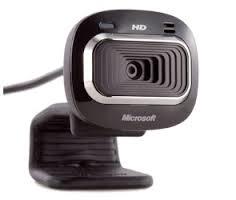 מצלמת רשת אינטרנט כולל מיקרופון לשיחות ועידה מיקרוסופט Microsoft LifeCam HD-3000 720P T3H-00012 USB