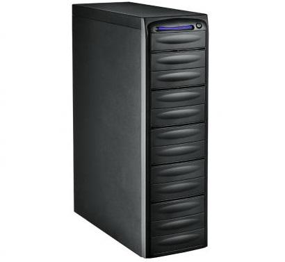מגדל צריבה מארז למשכפל DVD/CD ללא חיבור למחשב 1-11 (13 קומות) Famous FD-K513