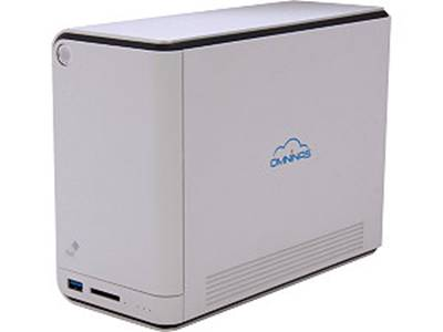 שרת אחסון קבצים Shuttle NAC KD20 UP TO 8TB USB 3.0\USB 2.0 SD