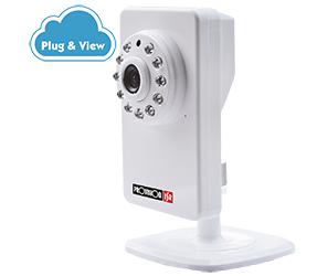 מצלמת IP אינטרנט אלחוטית יום לילה Provision F-717 1.3Mega Pixel 150Mbps Wireless 802.11n IP Camera