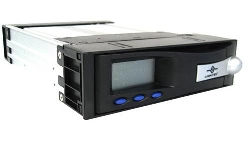 מגירה שליפה לדיסק קשיח וונטק כולל צג טמפרטורה (Vantec MRK-102FD-BK IDE (Black