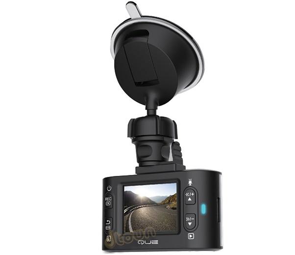 מצלמת דרך קיו לרכב לתיעוד הנסיעה ''1.5 Que BlackBOX Mini 1080p Full HD