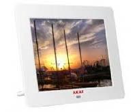 מסגרת דיגיטלית אקאי לבן AKAI AK8301 8'' White