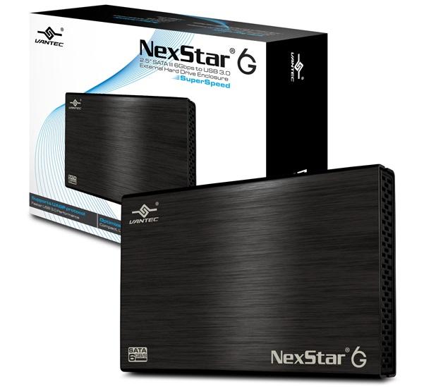 מארז חיצוני לדיסק קשיח 2.5 אינצ' אלומיניום וונטק Vantec NST-266S3-BK 2.5'' SATA III To USB3.0 Black