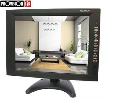 מוניטור מסך דק פרוויז'ן Provision PR-TFT12(VGA) AV,BNC,HDMI 12'' TFT LCD