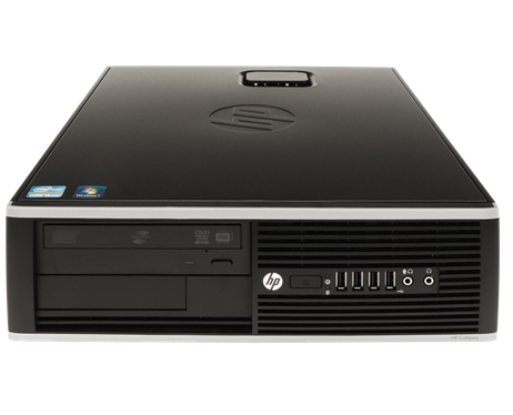 מחשב נייח מותג מחודש HP Compaq 8100 Elite SFF Intel Dual Core i3-550 3.2GHz 4GB 500GB Win 7 Pro