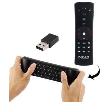 שלט רחוק משולב מקלדת ועכבר Minix Air Mouse NEO-A2
