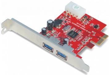 כרטיס הרחבה יוניטק Unitek Y-7301 2Port USB3.0 (NEC) PCI Express Card