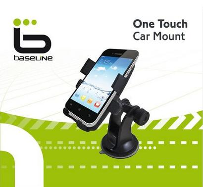 זרוע לרכב תושבת וואקום בייסליין Baseline One Touch Car Mount