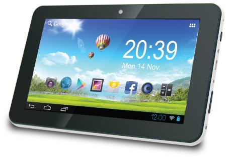 טאבלט סילבר ליין מסך מגע Silver Line SL1068 Tablet 10'' Cortex Quad Core 1.3GHz 1GB RAM 8GB Multi touch Android 7