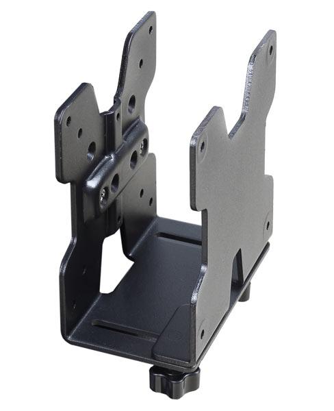 מחזיק אוניברסלי למחשב קטן שחור ארוגטרון Ergotron E-80-107-200 Thin Client CPU Holder Black