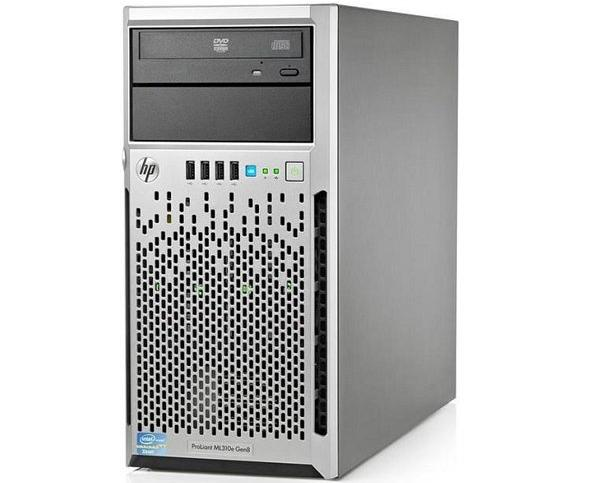 שרת HP ProLiant ML310e-G8 E3-1220v2 16GB 2x1TB B120i DVD-3yr NDB