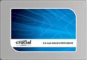כונן קשיח פלאש Crucial CT250BX100SSD1 BX100 SSD 250G SATA3 535/370 MB/s