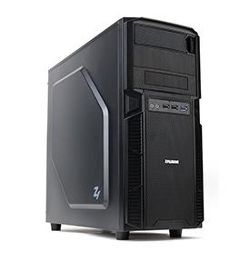 מארז זלמן לגיימרים ללא ספק שחור Zalman Z1 MID Tower ATX Enclosure 2x120mm USB3.0 Black
