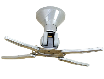 זרוע תלייה למקרן עד 10ק''ג עם פונקצית הטיה וסיבוב 360 מעלות מוצר טוויאני איכותי במיוחד GoldTop Tech Arm GT2340S Short-Throw 15.6cm Projector Mount