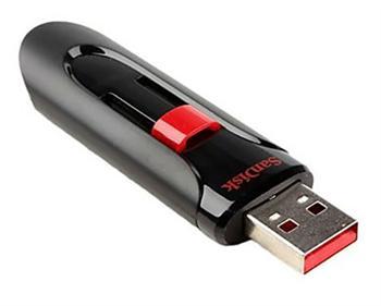 זכרון נייד סאן דיסק פלאש SanDisk SDCZ600-128G-G35 Cruzer Glide Z600 128GB USB3.0 Flash Drive